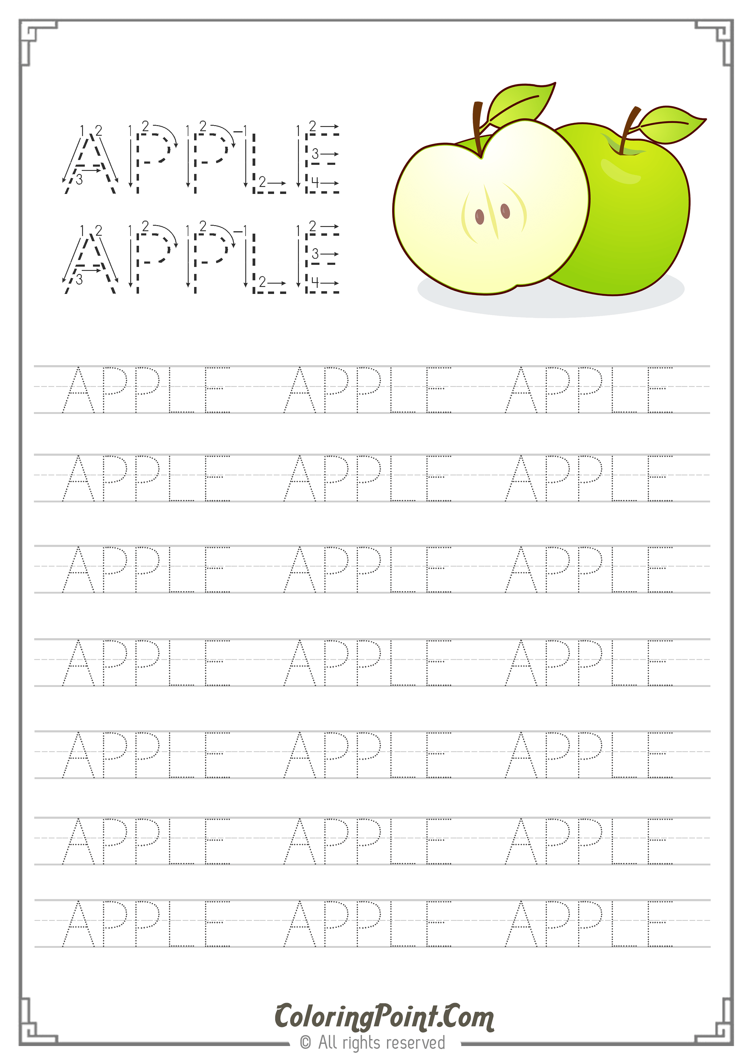 Free Printable Worksheets Ready To Print A4 Paper Size On