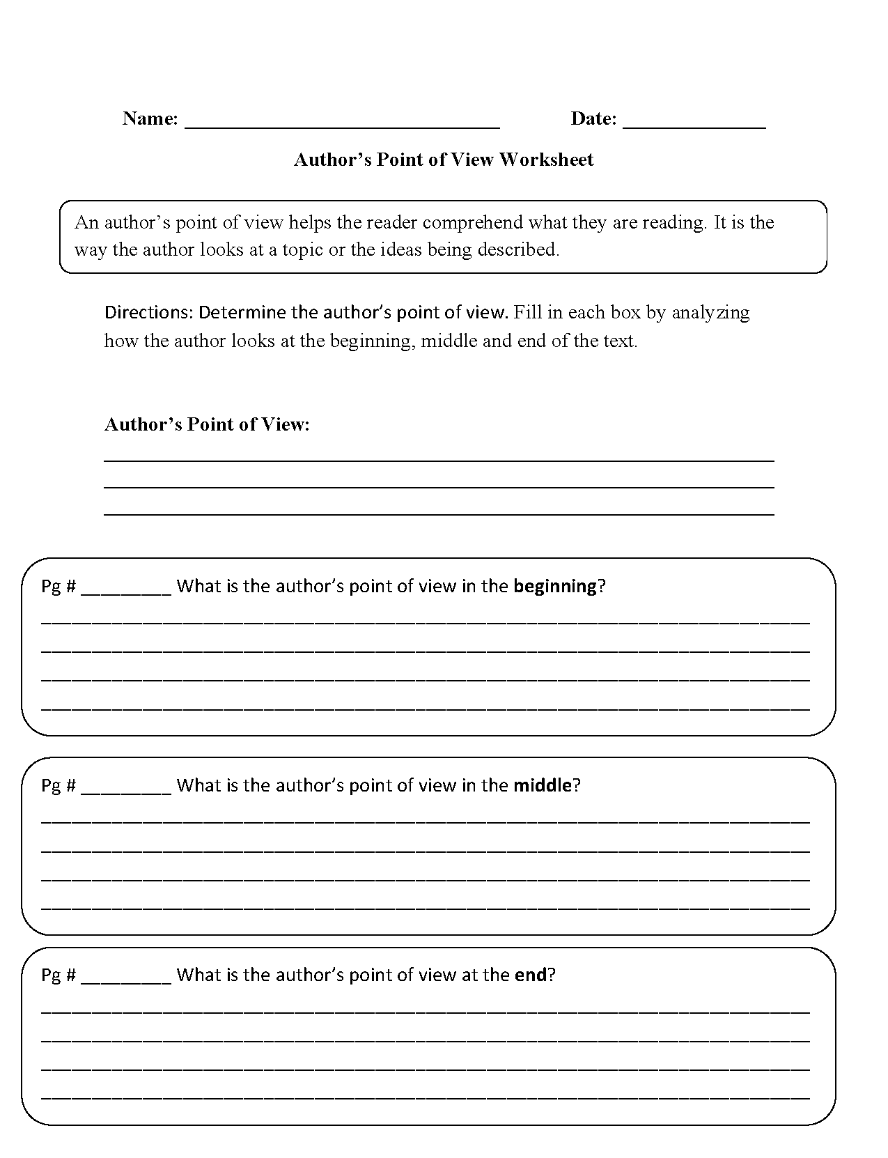 12 Best Finding The Main Idea Worksheets 4th Grade Images