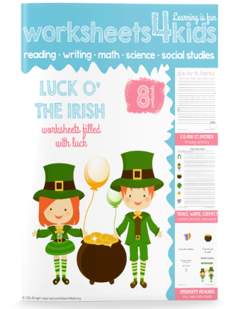 st patrick day worksheets