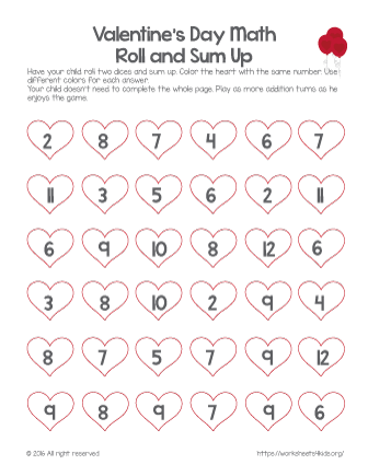 valentine activities for kindergarten