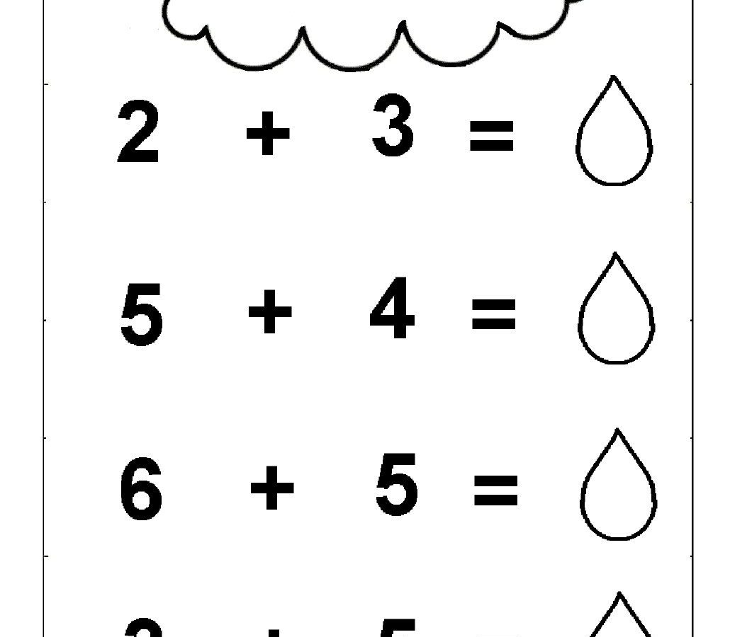 Free Printable Simple Addition Worksheets For Kids Download