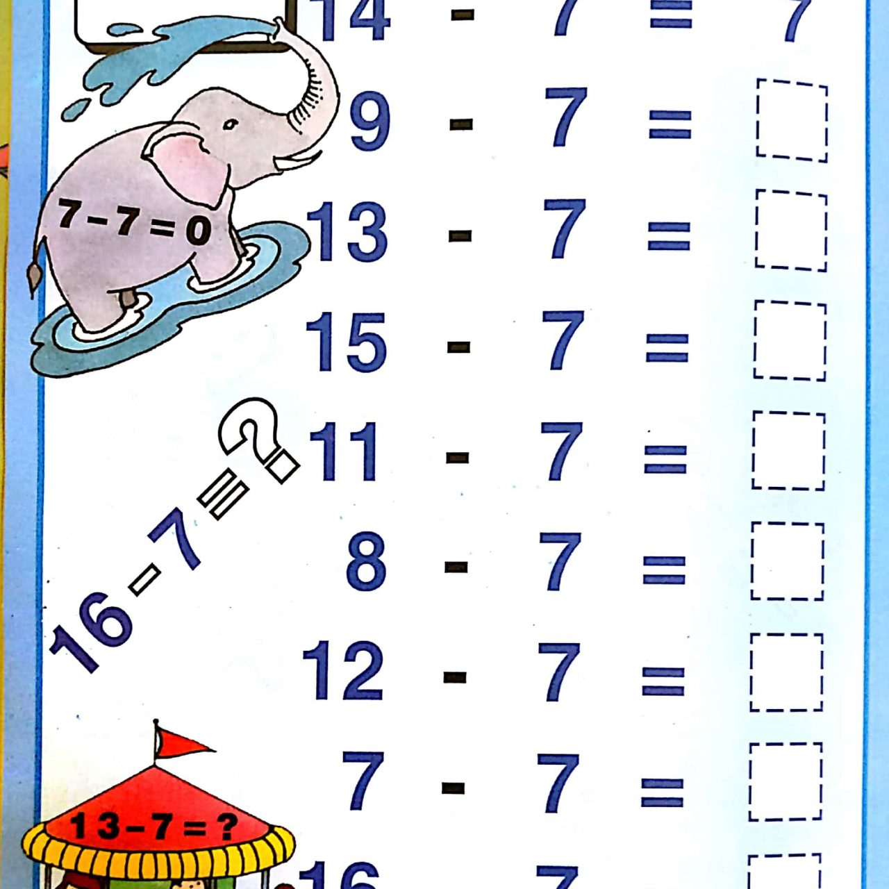Download Free Printable Subtraction With Borrowing Worksheets