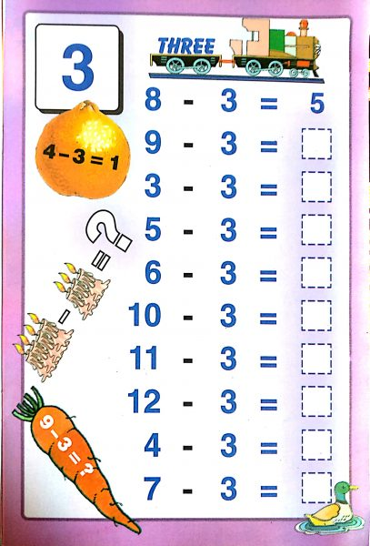 Download Free Printable Subtraction Worksheets