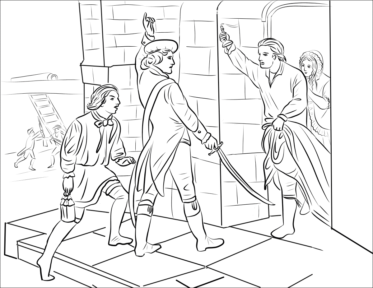 Declaration Of Independence Coloring Pages
