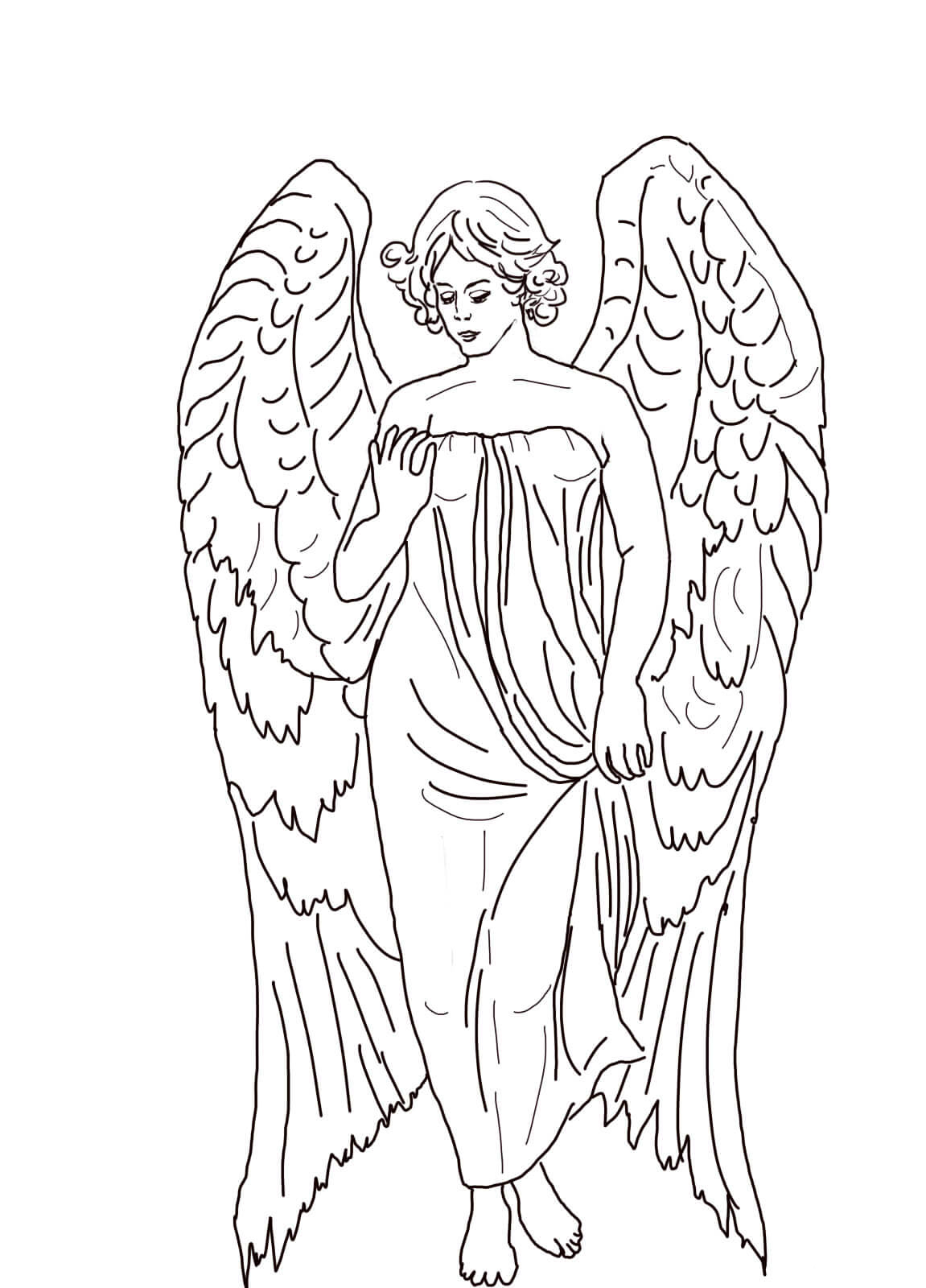 Guardian Angel Prayer Worksheet