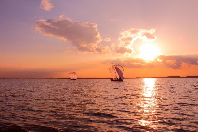 逆風に帆を張る