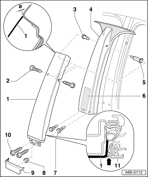 Decoratingspecial Com: Audi A3 B Pillar Interior Trim Removal