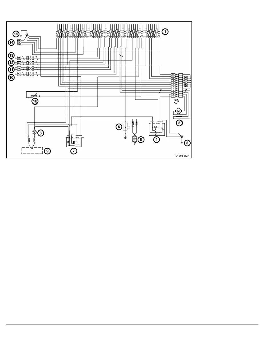 100 BMW E36 Wiring Diagram Rear Lights Headlight Lenses