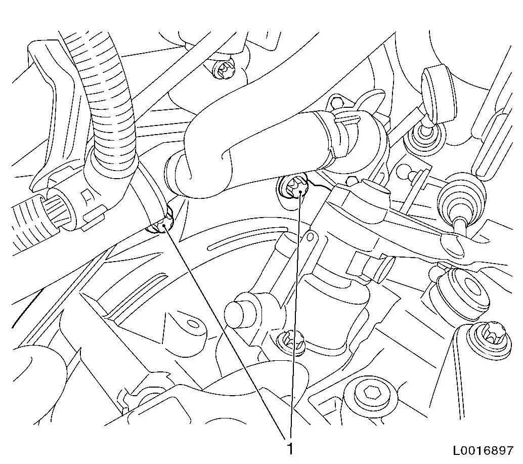 Vauxhall Workshop Manuals Gt Astra H Gt K Clutch And Transmission Gt Manual Transmission Front