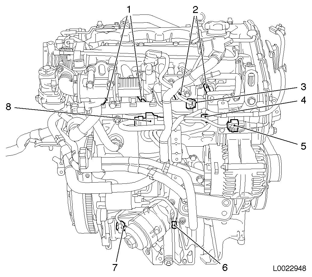 Vauxhall Workshop Manuals Gt Astra H Gt N Electrical