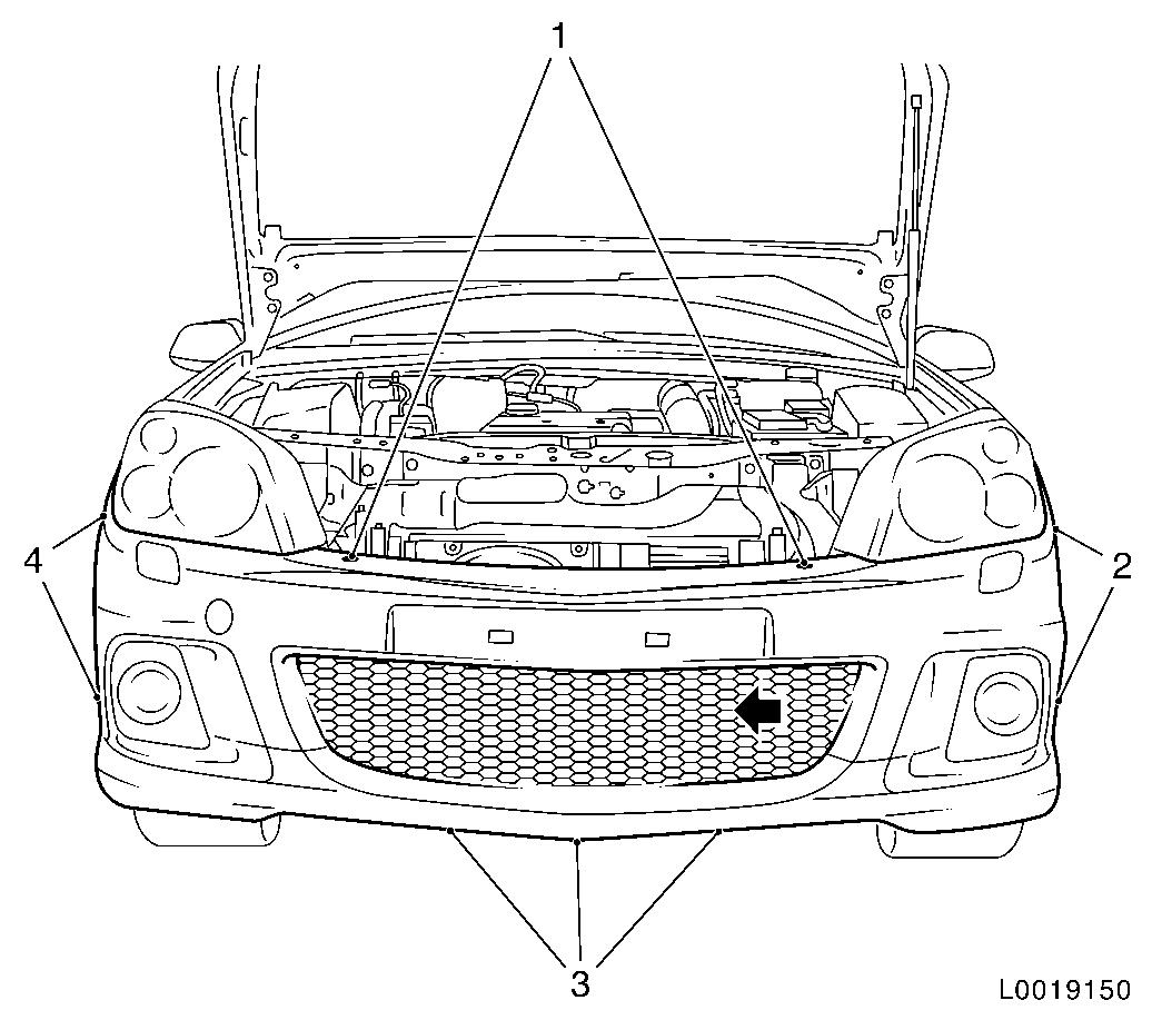Vauxhall Workshop Manuals Gt Astra H Gt A Maintenance Body
