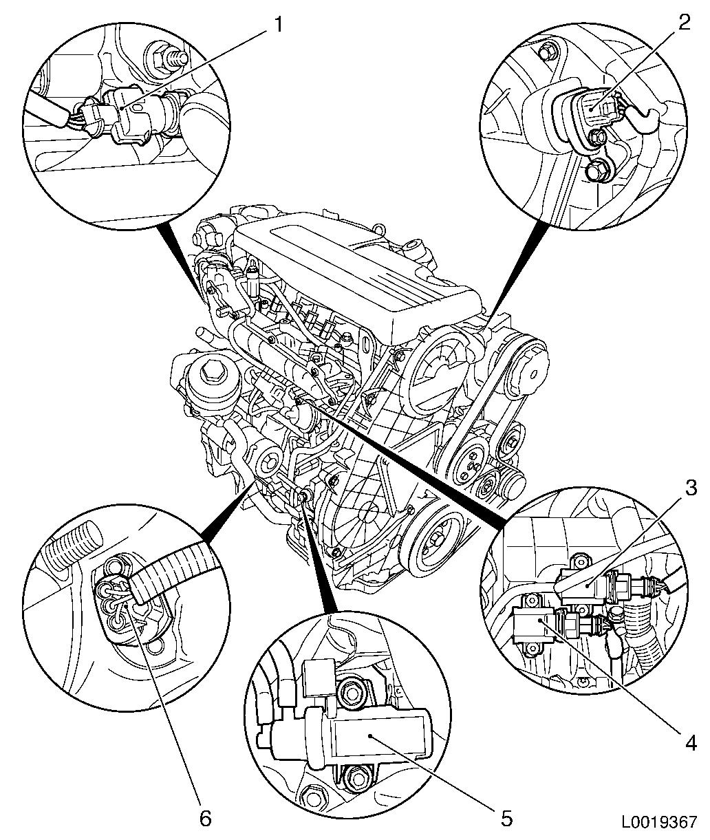 Vauxhall Workshop Manuals Gt Astra H Gt J Engine And Engine Aggregates Gt Fuel Injection Systems