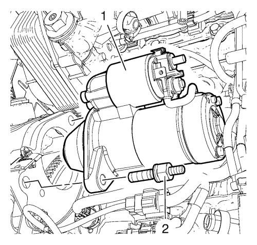 Vauxhall Zafira 1 6 Starter Motor Location
