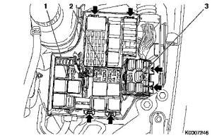 Vauxhall Workshop Manuals > Corsa C > N Electrical Equipment and Instruments > Fuse Box > Repair