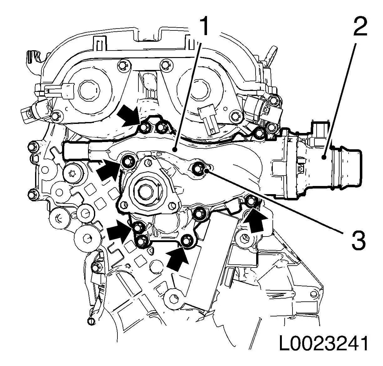 Vauxhall Workshop Manuals Gt Corsa D Gt J Engine And Engine Aggregates Gt Dohc Petrol Engine
