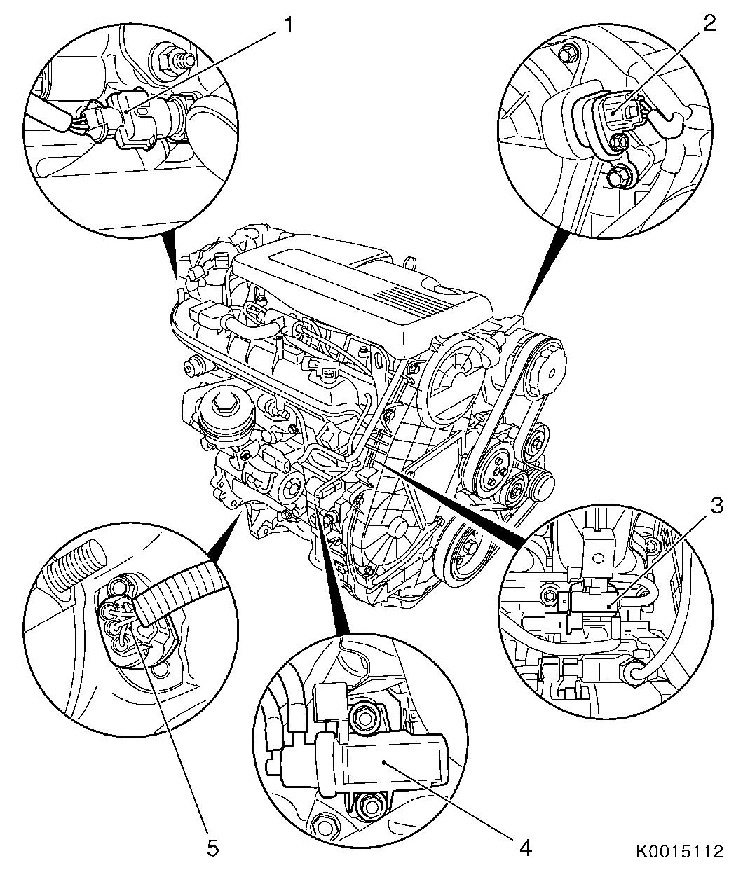 Vauxhall Workshop Manuals Gt Corsa D Gt J Engine And Engine Aggregates Gt Fuel Injection Systems