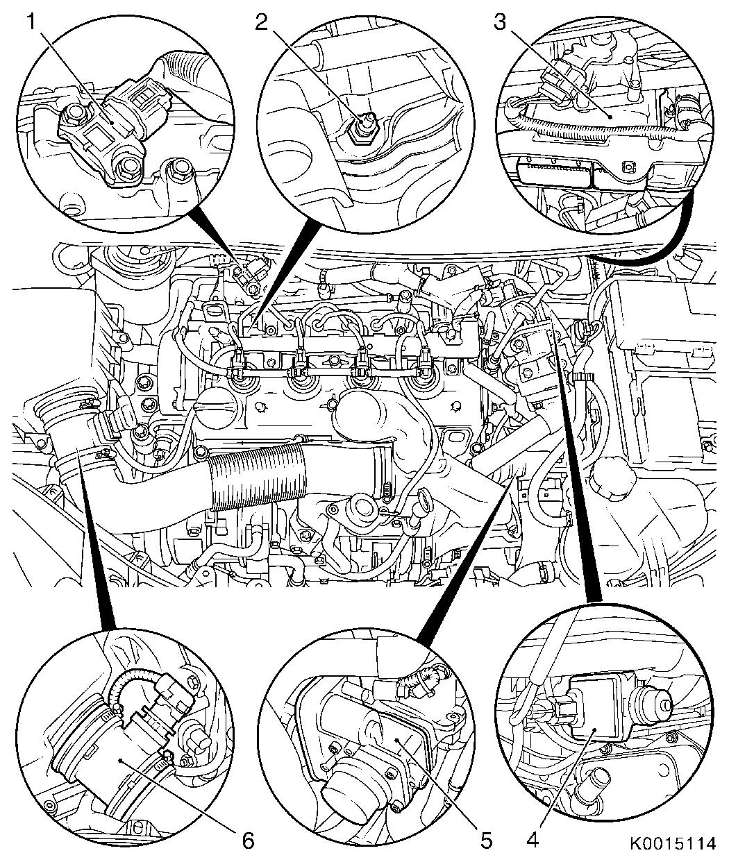 Vauxhall workshop manuals corsa d j engine and engine