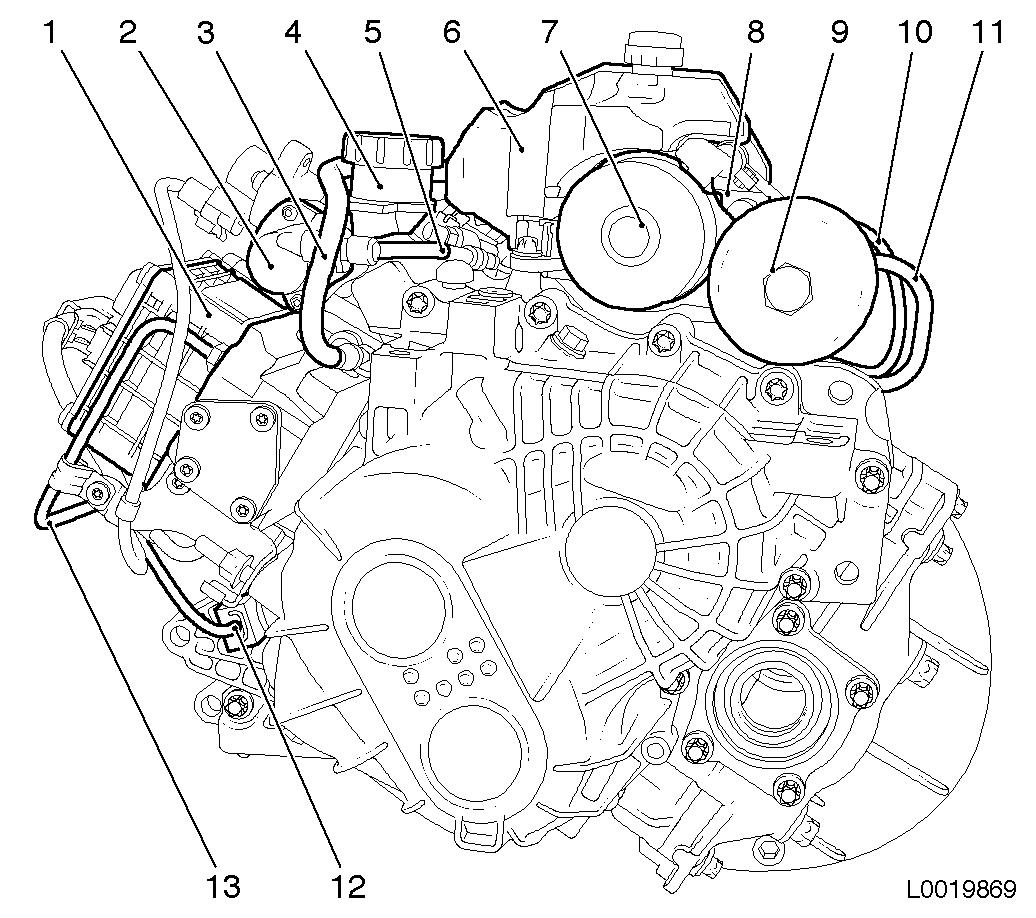 Vauxhall Workshop Manuals Gt Corsa D Gt K Clutch And