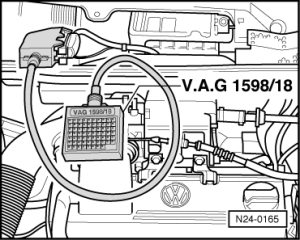 Volkswagen Workshop Manuals > Golf Mk3 > Power unit > Simos injection and ignition system