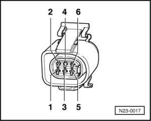 Volkswagen Workshop Manuals > Golf Mk3 > Power unit > Diesel direct injection and glow plug