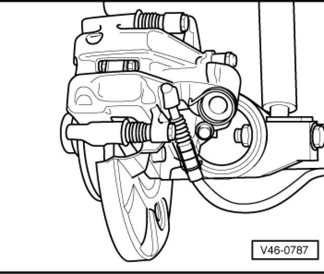 Secure Brake Caliper Housing With New Self Locking Bolts