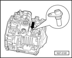 Volkswagen Workshop Manuals > Golf Mk4 > Power transmission > Automatic gearbox 01M self