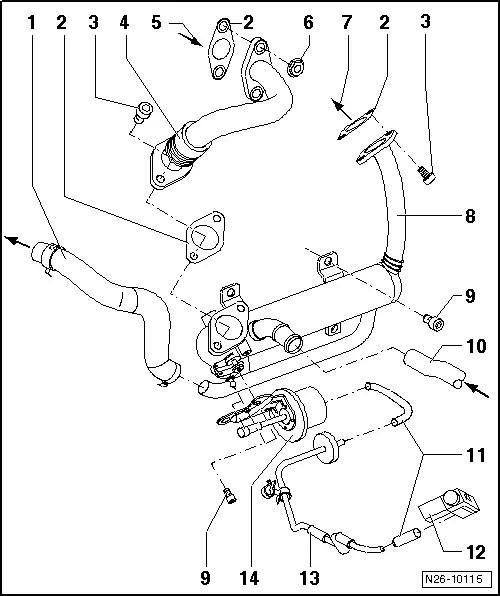 Volkswagen Exhaust Flap
