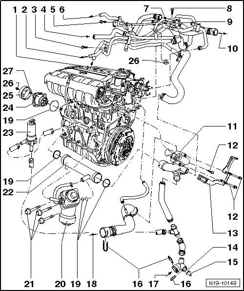 2003 vw passat exhaust diagram