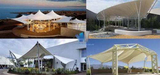 Tenda Membrane Canopy Fasilitas