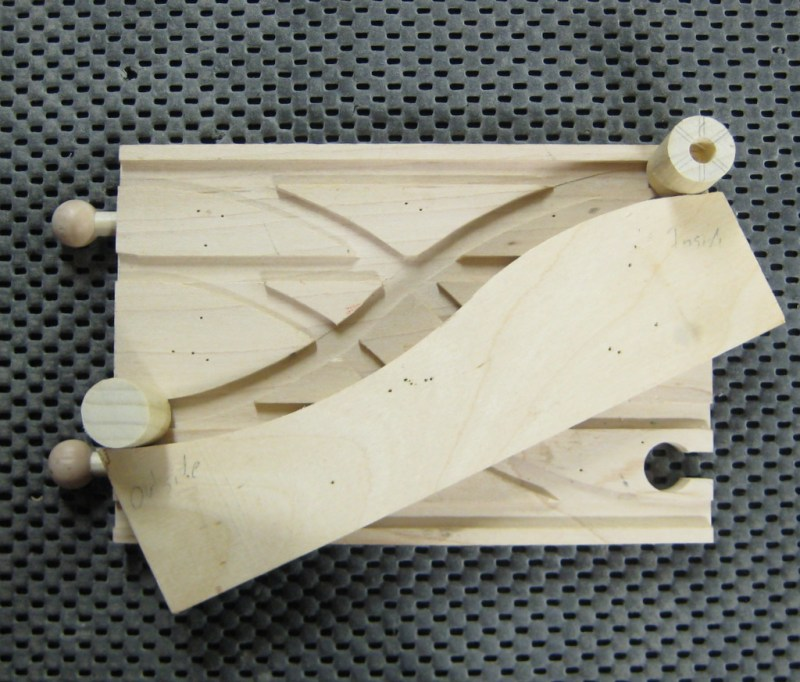 Incorrect way to position jig