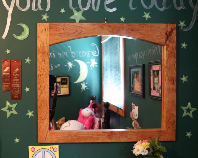 The Mirror Hanging in My Daughters Room