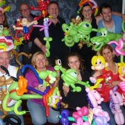 workshop balloonart, ballooning