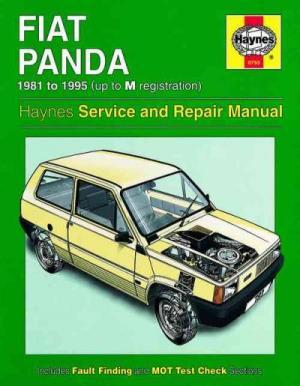 Fiat Panda 1981 1995 Haynes Service Repair Manual  sagin