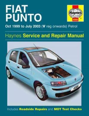Fiat Punto Petrol 1999 2003 Haynes Service Repair Manual