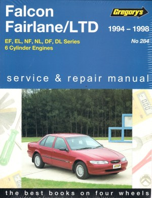 Ford Falcon Fairlane LTD 19941998 Gregorys Service Repair
