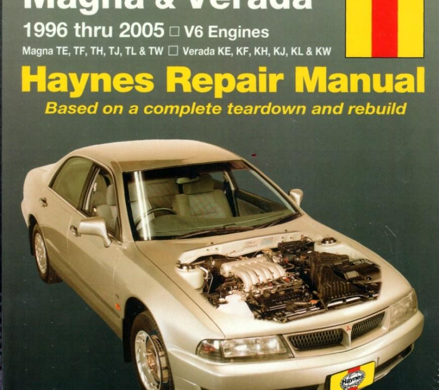 Mitsubishi Magna Verada 1996 2005 Haynes Service Repai