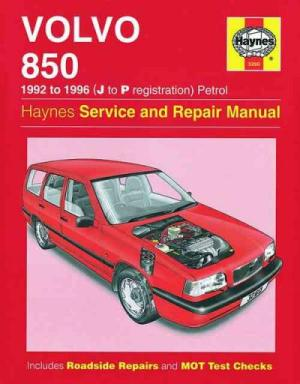 Volvo 850 19921996 Haynes Service Repair Manual  sagin workshop car manuals,repair books