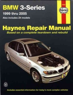BMW 3 Series E46 Z4 1999 2005 Haynes Service, Workshop and