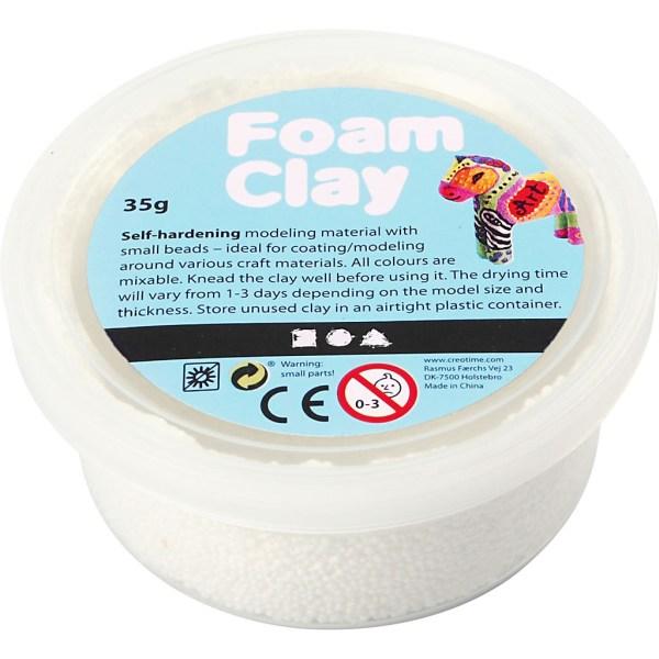 foam clay wit