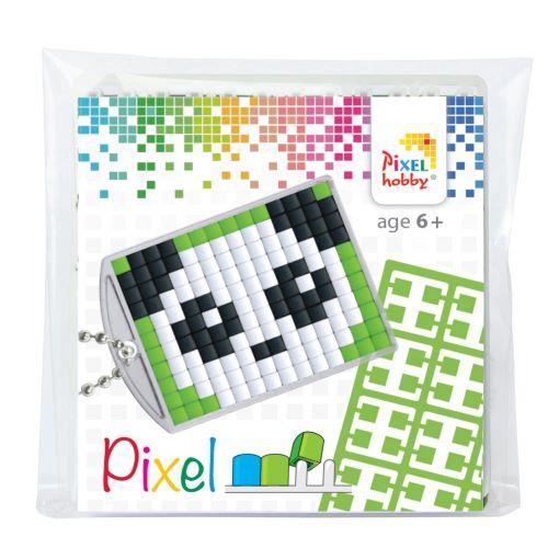 23004 panda pixel sleutelhanger