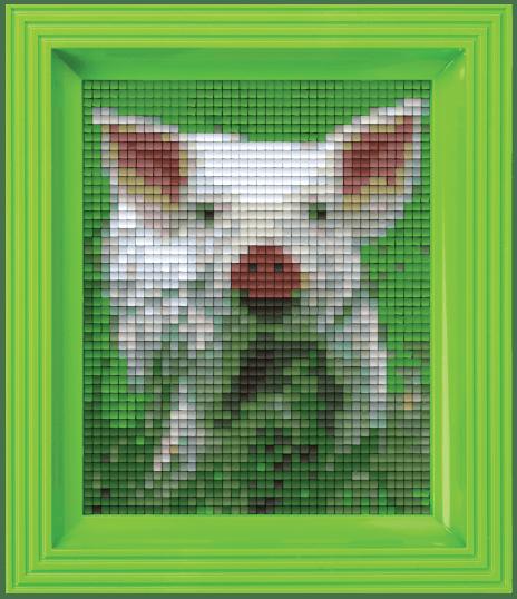 31235 geschenk set pixel varkentje