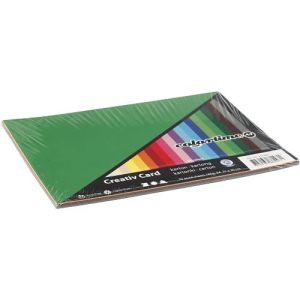 gekleurd karton 180gr A4