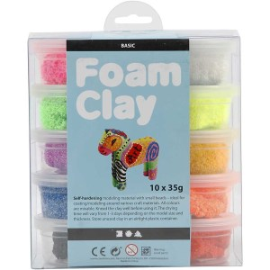 set foam clay basic