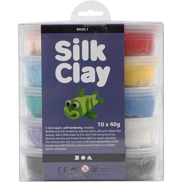 set Silk Clay Basic 1