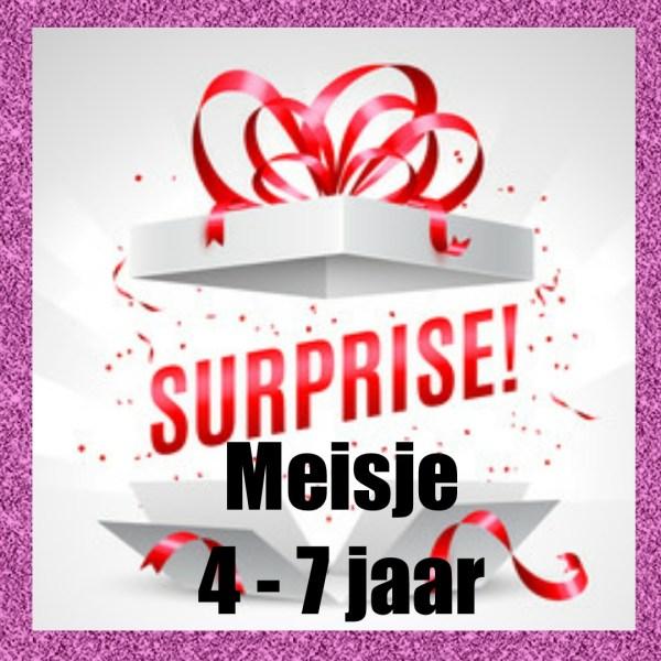 surprise doos meisje 4 tot 7 jaar