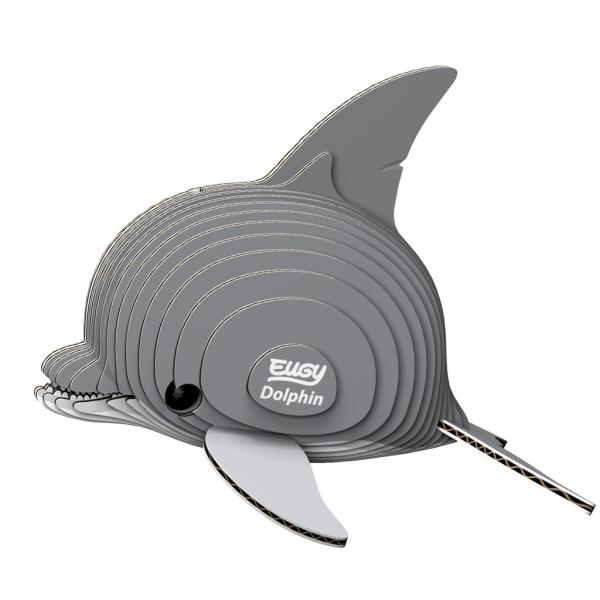 eugy 3d puzzel dolfijn