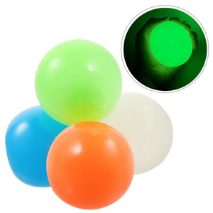 sticky balls glow in the dark