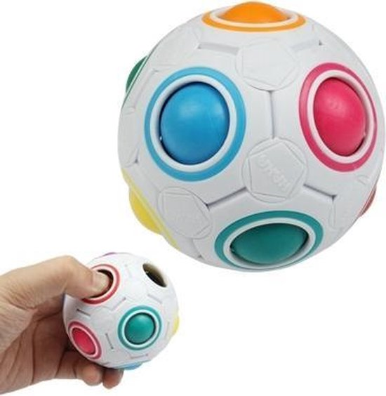 magic cube ball wit