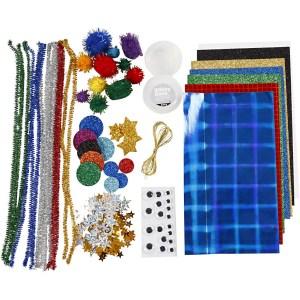 knutselpakket hobbymaterialen ruimte