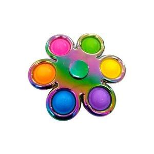 spinner en pop it in 1 metallic